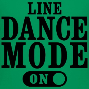 LINE DANCE MODE ON T-Shirts - Teenager Premium T-Shirt