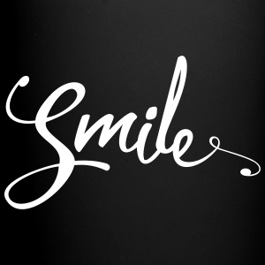 Smile Funny Quote Mugs & Drinkware - Full Colour Mug
