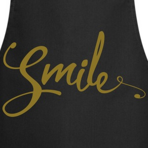 Smile Funny Quote  Aprons - Cooking Apron