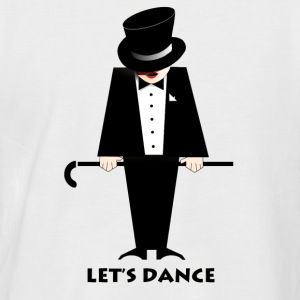 Let's Dance - Männer Baseball-T-Shirt