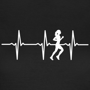 Heartbeat Running T-Shirts - Frauen T-Shirt