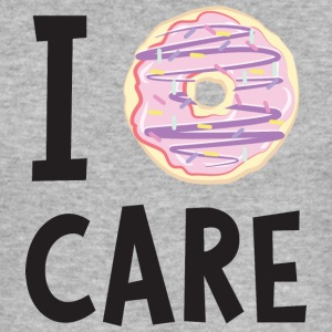 I Donut Care T-Shirts - Men's Slim Fit T-Shirt