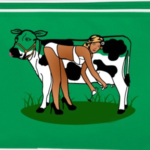 Cow Milking Dry Bags & Backpacks - Retro Bag