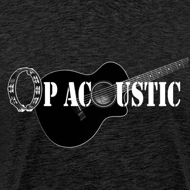 Ltd. Ed. Op Acoustic Band Logo#2 Simple Tee