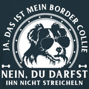 Ja, Border Collie T-Shirts - Männer T-Shirt
