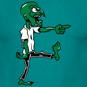 Zombie køligt T-shirts - Herre-T-shirt