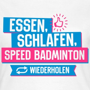 Hobby Speed Badminton T-Shirts - Frauen T-Shirt