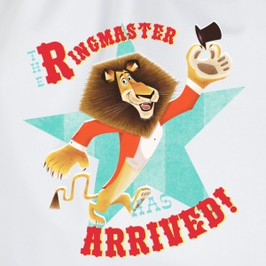 Madagascar Alex 'Ringmaster Arrived!' - Drawstring Bag