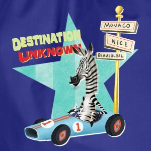 Madagascar Marty 'Destination Unknown' - Drawstring Bag
