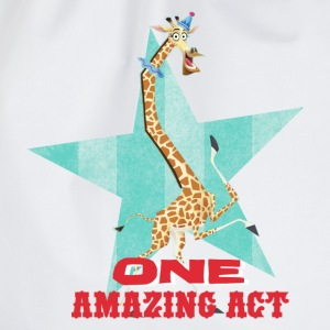 Madagascar Melman 'One Amazing Act' - Drawstring Bag