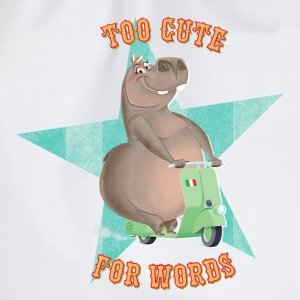 Madagascar Gloria 'Too cute for Words' - Drawstring Bag