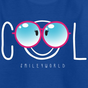 SmileyWorld Nerdy Cool Smiley - T-skjorte for tenåringer