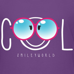 SmileyWorld Nerdy Cool Smiley - Camiseta premium adolescente