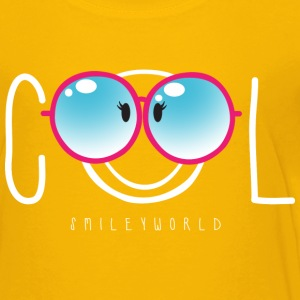 SmileyWorld Fröhlicher Smiley Mit Cooler Sonnenbr - Kinder Premium T-Shirt