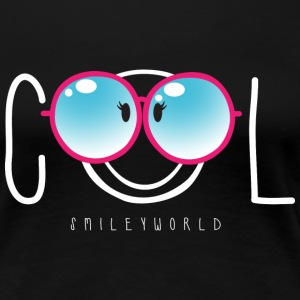 SmileyWorld Nerdy Cool Smiley - Camiseta premium mujer