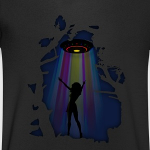 Alien Disco Fever T-Shirts - Men's V-Neck T-Shirt