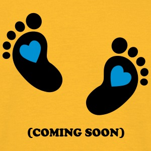 Baby - coming soon - 2c T-Shirts - Men's T-Shirt