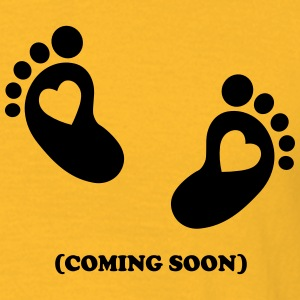 Baby - coming soon T-shirts - Mannen T-shirt