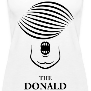 The Donald (Donald Trump Karikatur) Tops - Frauen Premium Tank Top