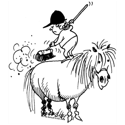 Thelwell 'Spring-cleaning'
