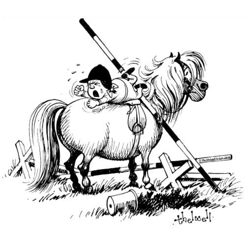 Thelwell 'Hard-bitten Pony'