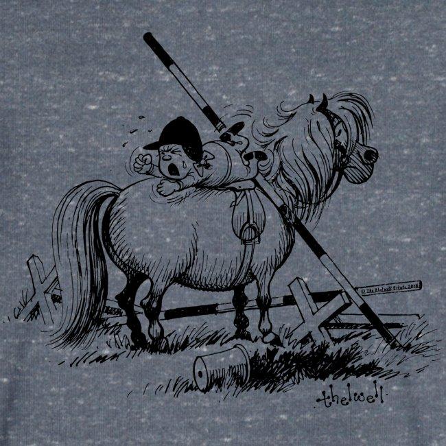 Thelwell A hard-bitten Pony