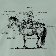 Motiv ~ Thelwell Pony 'Western Riding school'