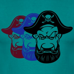 Pirates køle Dreispitz T-shirts - Herre-T-shirt