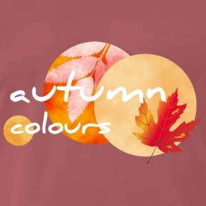 autumn colours 1 - Männer Premium T-Shirt
