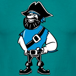 Pirate dreispitz T-Shirts - Men's T-Shirt