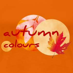 autumn colours 2 - Frauen Premium T-Shirt