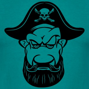 Pirate kølig Dreispitz T-shirts - Herre-T-shirt