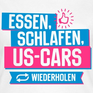 Hobby US-Cars T-Shirts - Frauen T-Shirt