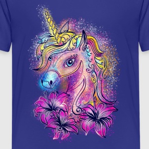 Unicorn, rainbow, fantasy, magic, horse, pony Shirts - Teenage Premium T-Shirt