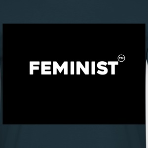 Kiss me, i'm a feminist. - Men's T-Shirt