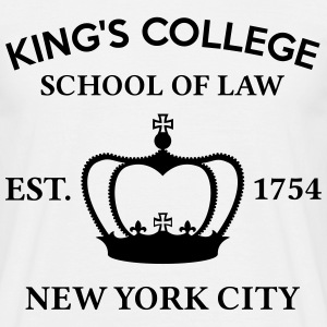 HAMILTON BROADWAY MUSICAL King's College School... T-Shirts - Men's T-Shirt