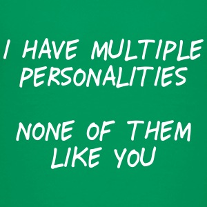 i have multiple personalities II Skjorter - Premium T-skjorte for tenåringer