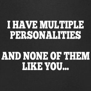 i have multiple personalities I Tee shirts - T-shirt Homme col V