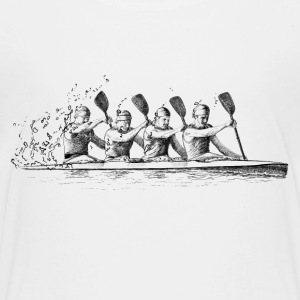 canoe racing Shirts - Teenage Premium T-Shirt