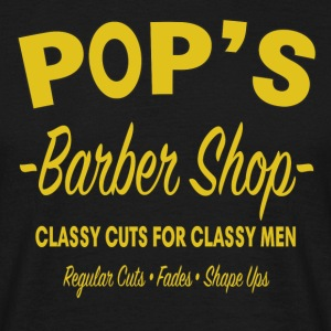 Pop's Barber Shop - Luke Cage - Men's T-Shirt