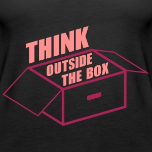 Think Outside The Box - Frauen Premium Tank Top