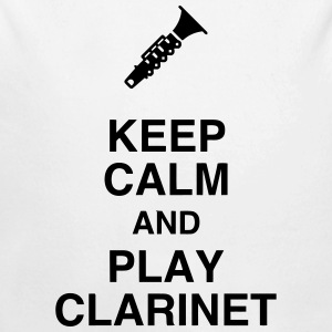 Clarinet Clarinetist Music Clarinette Musique Baby Bodysuits - Longlseeve Baby Bodysuit