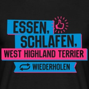 West Highland Terrier T-Shirts - Männer T-Shirt