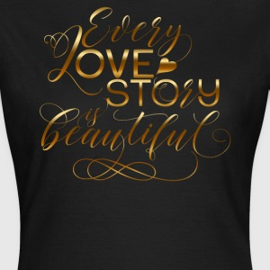 LOVESTORY - 816 - 3 T-Shirts - Frauen T-Shirt