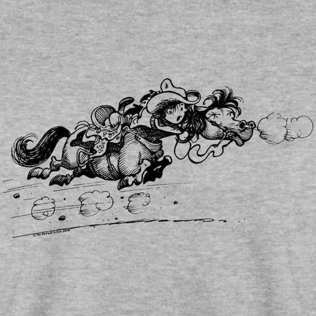 Thelwell Western Pony run away