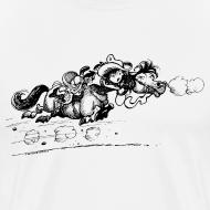 Motiv ~ Thelwell Western Pony run away