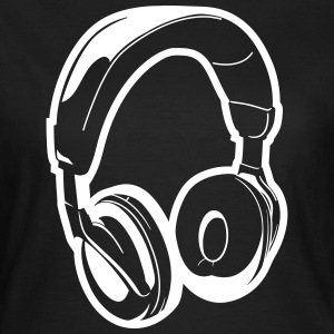 Music Headset Frauen T-Shirt - Frauen T-Shirt