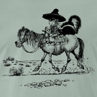 Motiv ~ Thelwell Cowboy with a skunk