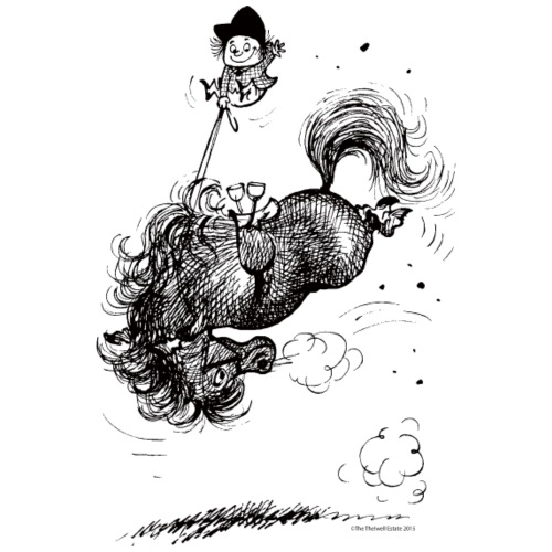 Thelwell - Pony macht Bocksprünge