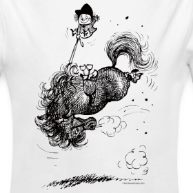 Design ~ Thelwell Pony leap-frog